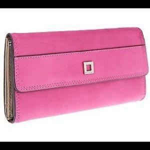 Hot Pink Lodis Wallet
